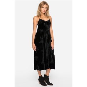 Johnny Was Windflower Long Easy Dress in Black